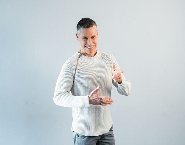Макс Погорелый, 52 года. Диетолог, блоггер, коуч здорового питания, лектор.