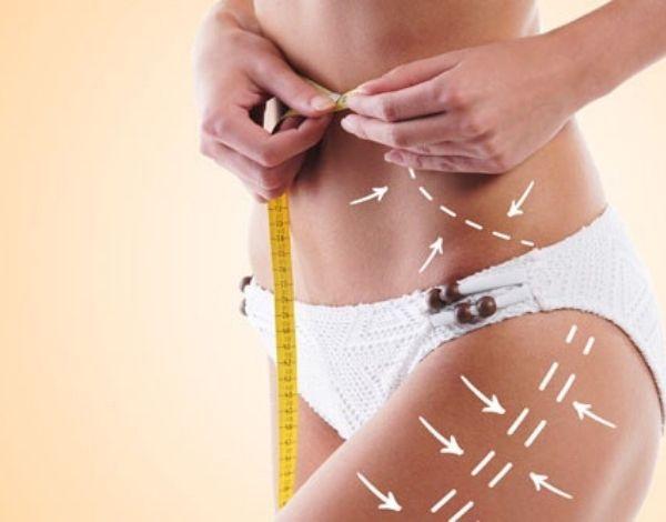 Как согнать жир на талии и бёдрах