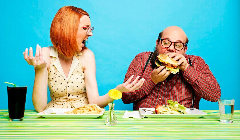 Делайте 35-40 жевательных движений с каждой порцией пищи, которую кладете в рот.