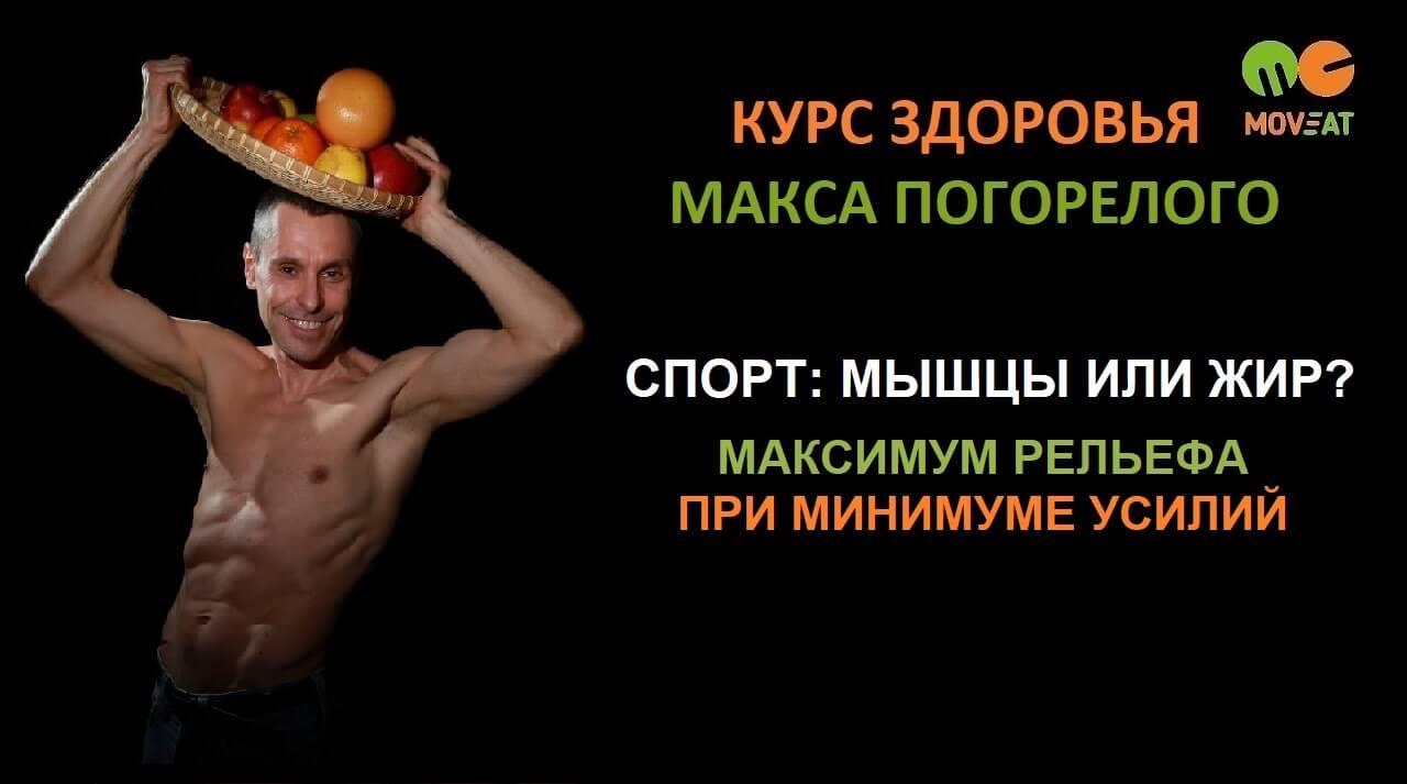 Спорт: мышцы или жир? Максимум рельефа при минимуме усилий